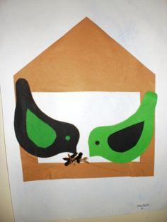 Zimní krmítko pro ptáčky Spring Birds, Bird Tree, Crafts For Kids, Trees, Jewellery, Education, Winter, Spring, Crafts For Toddlers