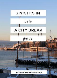 Oslo City Break | European Travel | Oslo Itinerary | Travel To Norway