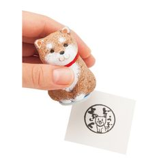 I want one of theses stamps....kraso. Shiba Inu stamp