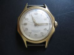 Nice wristwatch done by Orvin done in stainless steel. Lone Ranger, Vintage Men, Chronograph, 1950s, Clock, Watches, Silver, Gold, Accessories