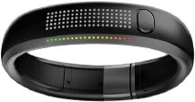 The Nike Fuel band, Pretty cool but I wish that it worked without the shoes