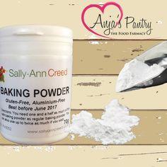 Gluten-free, starch free and Aluminium Free Baking Powder