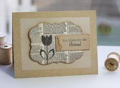 Book Print Tulip