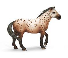 schleich horses | Schleich Horses | Schleich Knabstrubber Stallion
