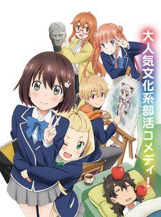 Reveladas mas voces del Anime Kono Bijutsubu ni wa Mondai ga Aru! al aire el 7 de Julio.