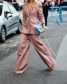 Gorgeous Pink Oversized Suit // MISS IDA B