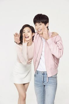 A brand with such good taste as to pair up new television darlings Park Bo Gum and Kim Go Eun for a ad campaign is certainly a savvy cookie in my eyes. Korean Celebrities, Korean Actors, Celebs, Lee Min Ho, Kim Go Eun Style, Cantabile Tomorrow, Trending Photos, Lord, Korean Couple