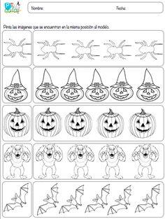 AULA PT: PercepcióN Visual Y AtencióN Halloween
