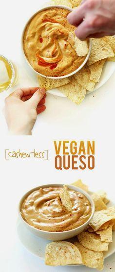 Cashew-less Vegan Queso A Secret Ingredient