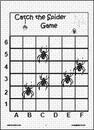 Spider Battleship game