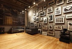 Love the #Industrial look and #wallart