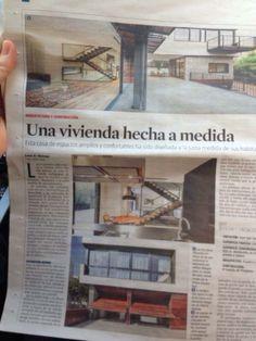 Ayer artículo sobre una de las últimas obras acabadas en La Vanguardia con Marcos Palomar Giró, Carolina Puigdengolas y sobre todo, gracias a todos por sumar. Palomar, Single Wide, Frames, Thanks