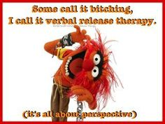 Animal muppet Therapy.