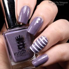 Nail Art By Belegwen: A England Wuthering Heights