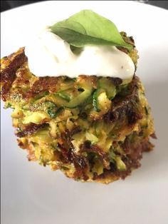 Zucchini/Baby Marrow Cheese Fritters. Soooo delicious for a snack or as a side dish...