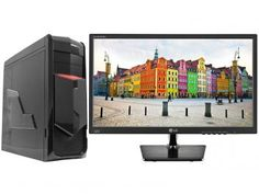 Computador Braview i705 Intel Core i7 16GB 1TB - Placa de Vídeo Dedicada Linux + Monitor LG LED