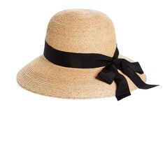 Brooks Brothers Raffia Sun Hat (1.305 ARS) ❤ liked on Polyvore featuring accessories, hats, headwear, sombreros, adjustable sun hat, brooks brothers hats, sun hat, brooks brothers and brim sun hat