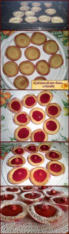 Il piacere di star bene... a tavola!: Tartellette con salsa di fragole