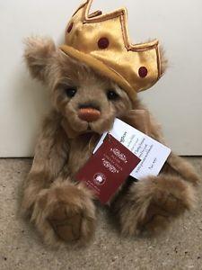 Bnwt Official Stockist Plush Bear Charlie Bears Hop