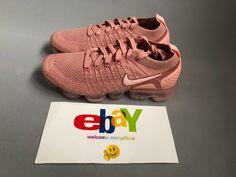 Nike Air VaporMax FLYKNIT 2 Women's Running Shoes Rust Pink 942843-600 #Nike #RunningShoes