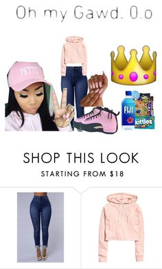 """""""P.E.T.T.Y"""" by shecutetho ❤ liked on Polyvore"""
