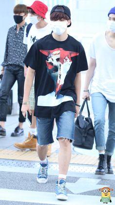 [AIRPORT] BTS Park Jimin at Incheon Airport