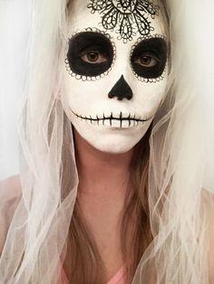 Sugar Skull Halloween Makeup | Erica's DIY Work: Sugar Skull face paint