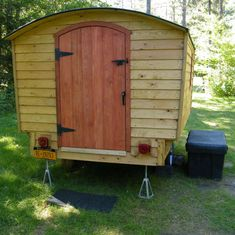 Custom built Camper Tiny Travel Trailer Teardrop by pinecountry