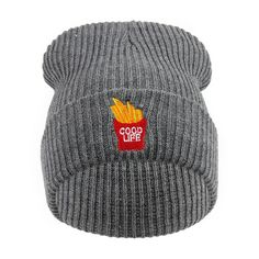 French Fries Good... http://www.jakkoutthebxx.com/products/2016-winter-hats-harajuku-cute-fries-embroidery-casual-men-women-gorro-warm-elastic-hip-hop-hat-female-beanies-cap6a81-gray?utm_campaign=social_autopilot&utm_source=pin&utm_medium=pin #alloverprint #mall #style #trending #shoppingaddict  #shoppingtime #musthave #onlineshopping #new