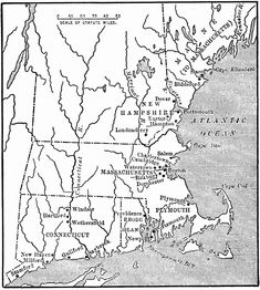 The New England Colonies in the 1600s