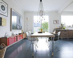 design attractor: Retro Minimalistic Danish Villa