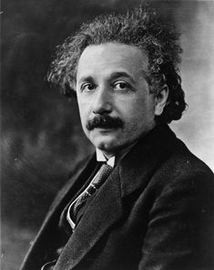 "Albert Einstein. -  """"There are only two ways to live your life. One is as though nothing is a miracle. The other is as though everything is a miracle."""