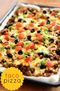 How To Make Taco Pizza