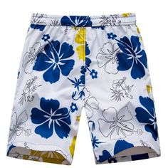 Charitable Summer Men Beach Drawstring Shorts Quick Drying Printed Swim Trunks Shorts Surf Board Short Pants Plus Size Large Assortment Men's Clothing