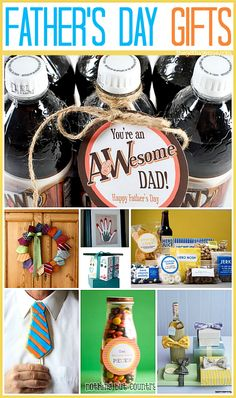 Sweet Fathers day gift ideas!