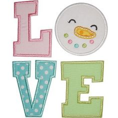 Snowman Love Applique - Planet Applique Inc