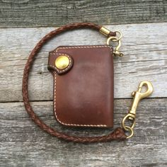 KRYSL LEATHER GOODS handmade leather wallet | worn 16 months