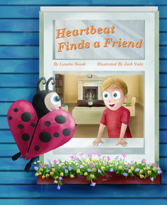 This is the cover of the book,  Heartbeat Finds a friend. This book is a part of the collection called A Valentine's Day Treasure Kit