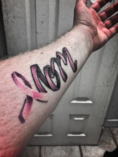 My first tattoo, in honor of my mother, who is currently fighting breast cancer, along with 2 other cancers.