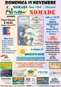19 novembre 2017: Abruzzo Nomade a sostegno di Adricesta Onlus