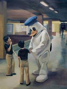 Disney figures in art that make you think twice explains that even they are cute, artists make use of them to express their critic on society Vietnam Girl, Painter Artist, National Gallery Of Art, Dutch Painters, Dutch Artists, Art For Art Sake, Street Artists, Figurative Art, Cartoon Art