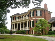 Point of Honor, 1815 -- Lynchburg, Va --  I toured it yesterday -- beautiful!! Well worth a visit.