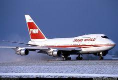 TWA | N57203 - TWA Boeing 747SP at Amsterdam - Schiphol | Photo ID 77751 ...