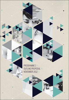 40 Amazing Geometric Designs in Graphic Illustration Yearbook Layouts, Yearbook Design, Yearbook Theme, Yearbook Ideas, Poster Design, Poster Layout, Print Layout, Design Graphique, Art Graphique