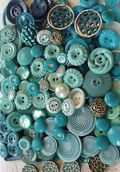 Collections - Blue Buttons