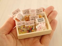 2017. Miniature Candys ♡ ♡ By r cafe Miniature