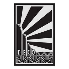 Art Deco style acted as a form of advertisement on its own. By the late advertising with Art Deco became more widespread with everything from departme. Estilo Art Deco, Arte Art Deco, Moda Art Deco, Art Deco Print, Art Deco Artwork, Art Deco Posters, Poster Prints, Art Deco Illustration, Art Nouveau