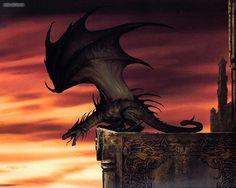 Dragón por Ciruelo Cabral