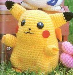 Amigurumis: pikachu