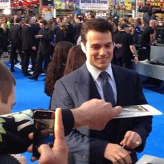 Henry Cavill News ~ FF6 premiere.  May 7, 2013